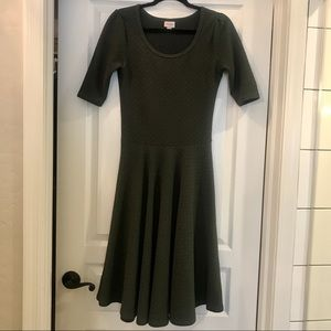 LULAROE Fit and Flare Short Sleeve Dress